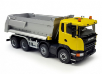 Tekno Scania G450 8x4 Tipper yellow